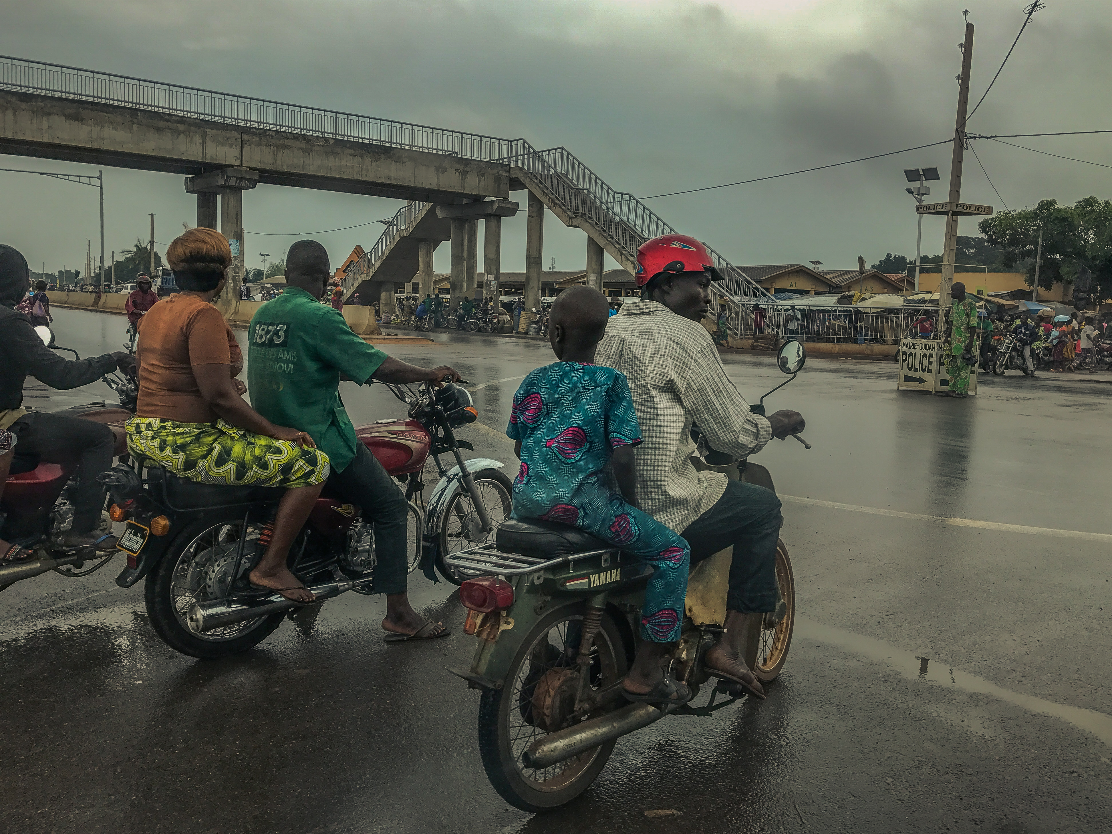 Zémidjan in Benin