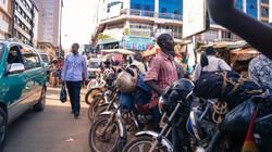 Boda Bodas in Kampala
