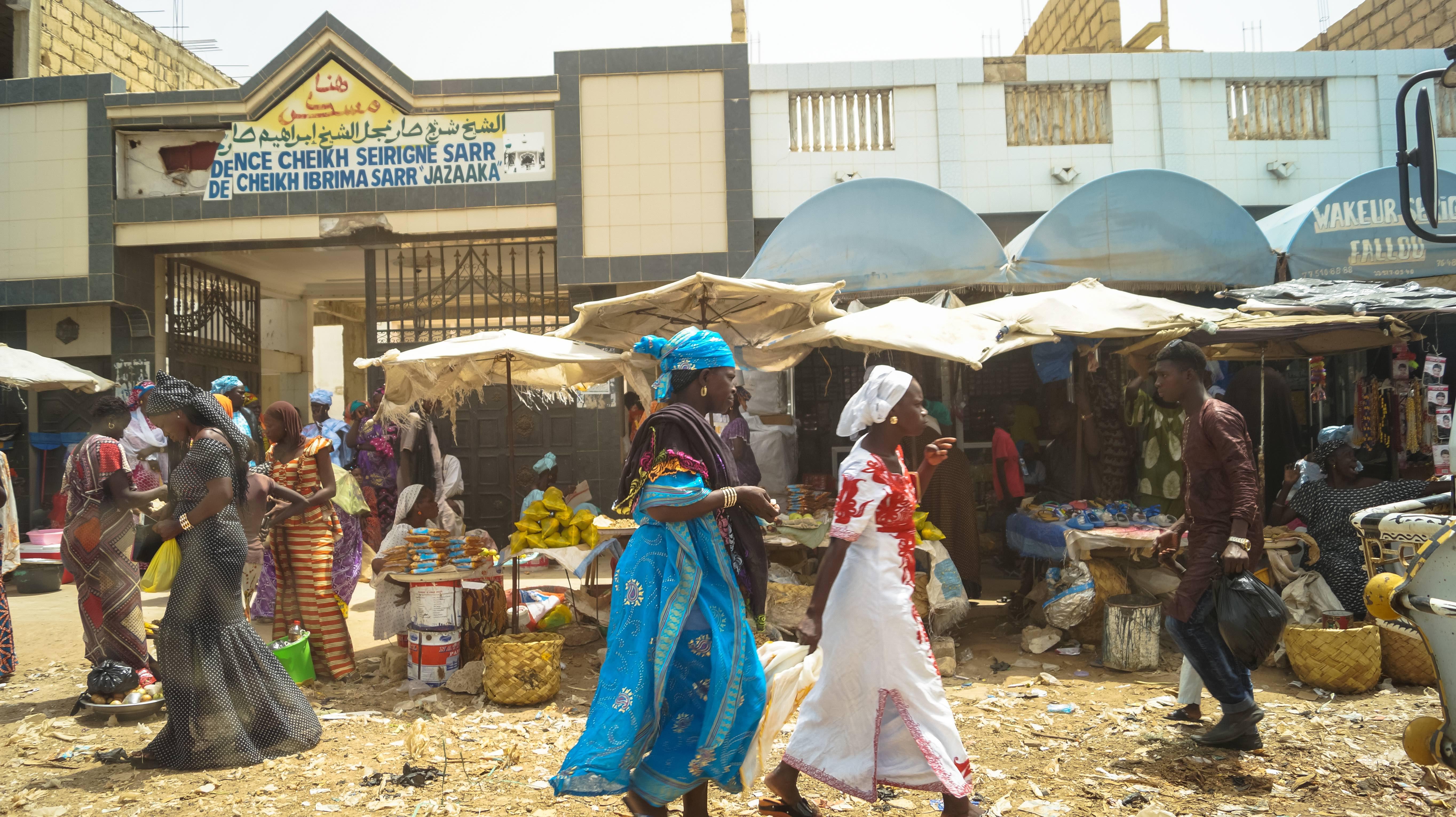 Streets of Touba, Senegal