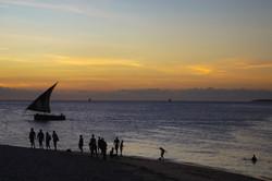 Beach, Stone Town, Zanzibar