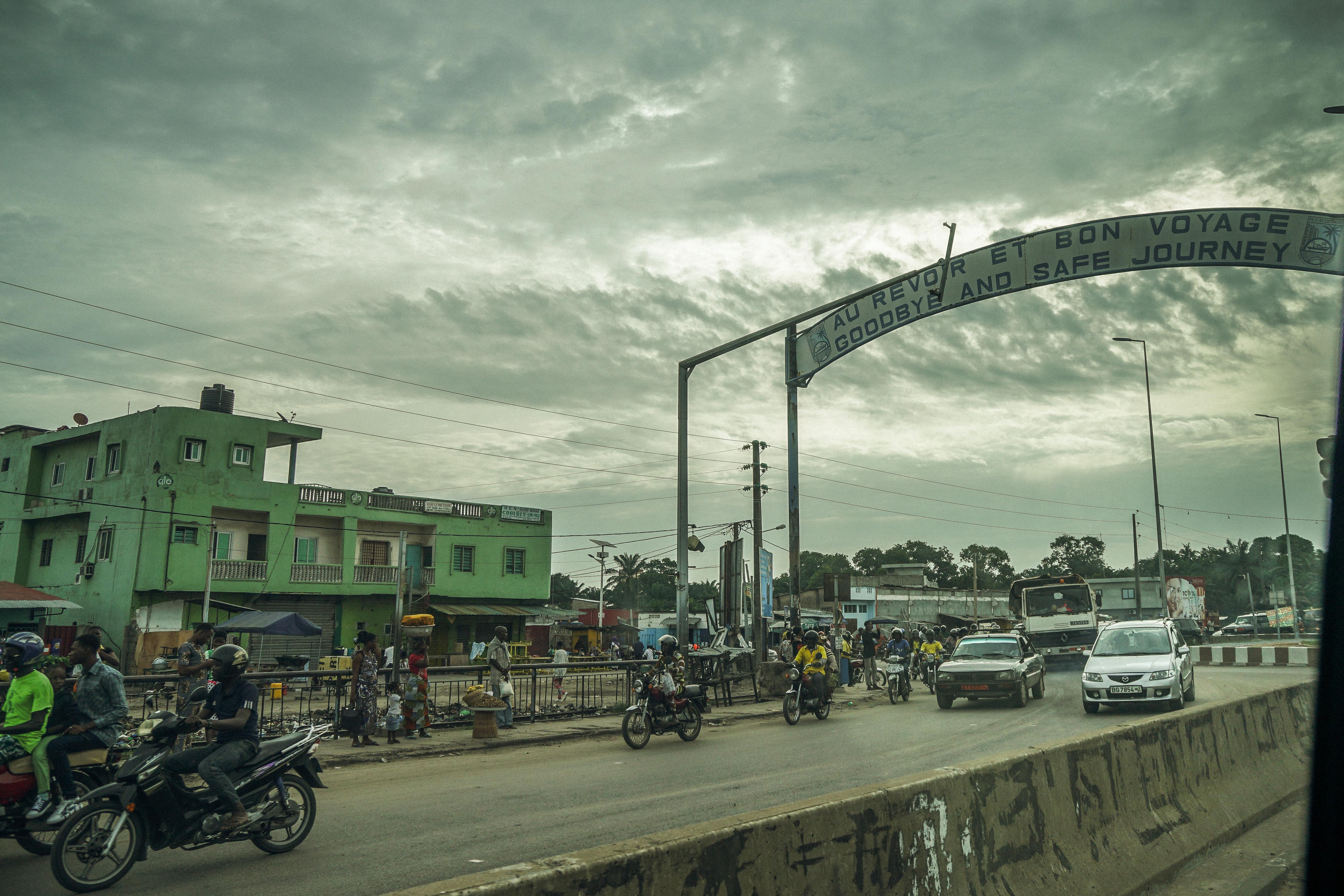 Zemidjans in Benin
