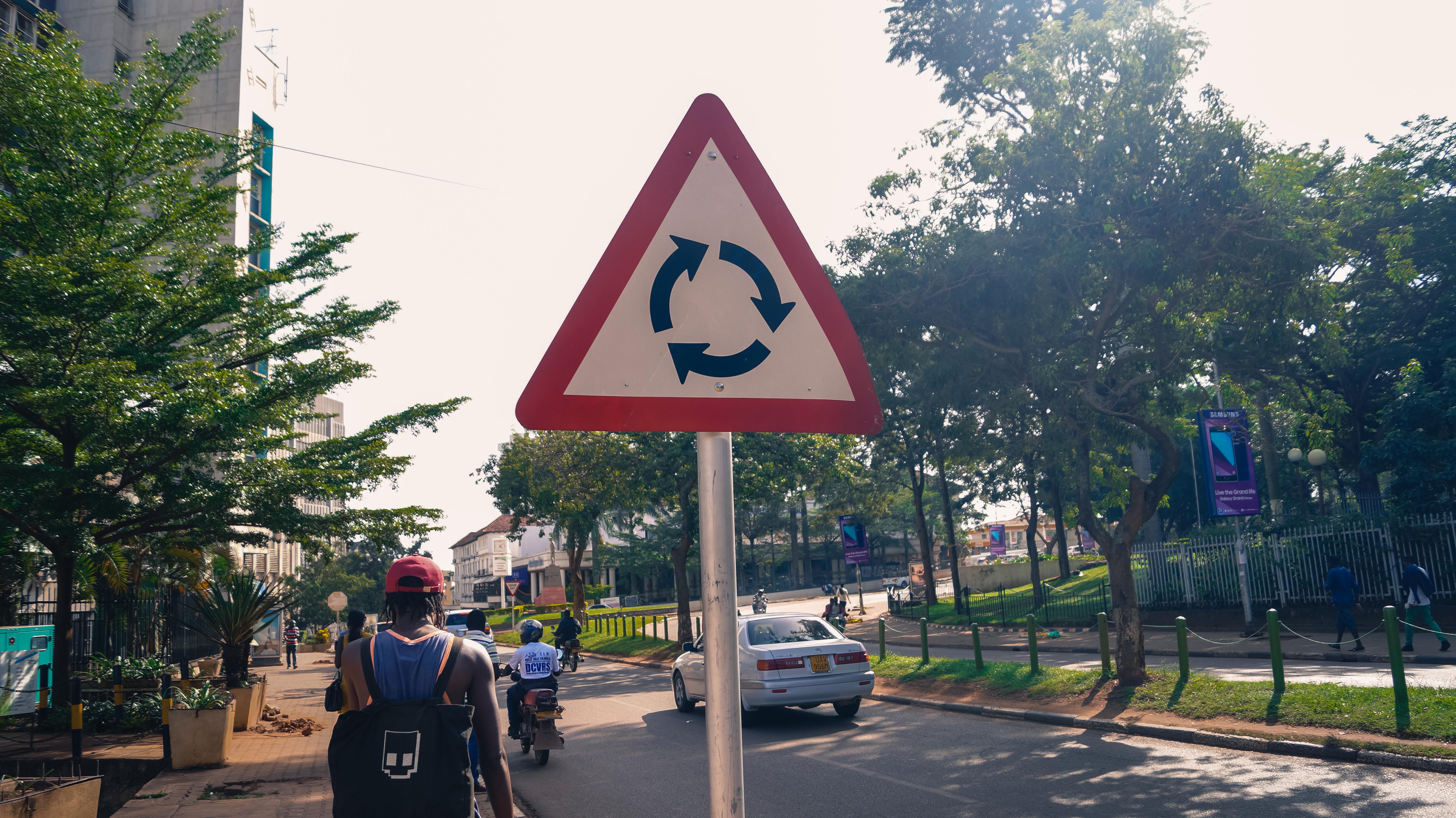 Street Sign, Kampala, Uganda