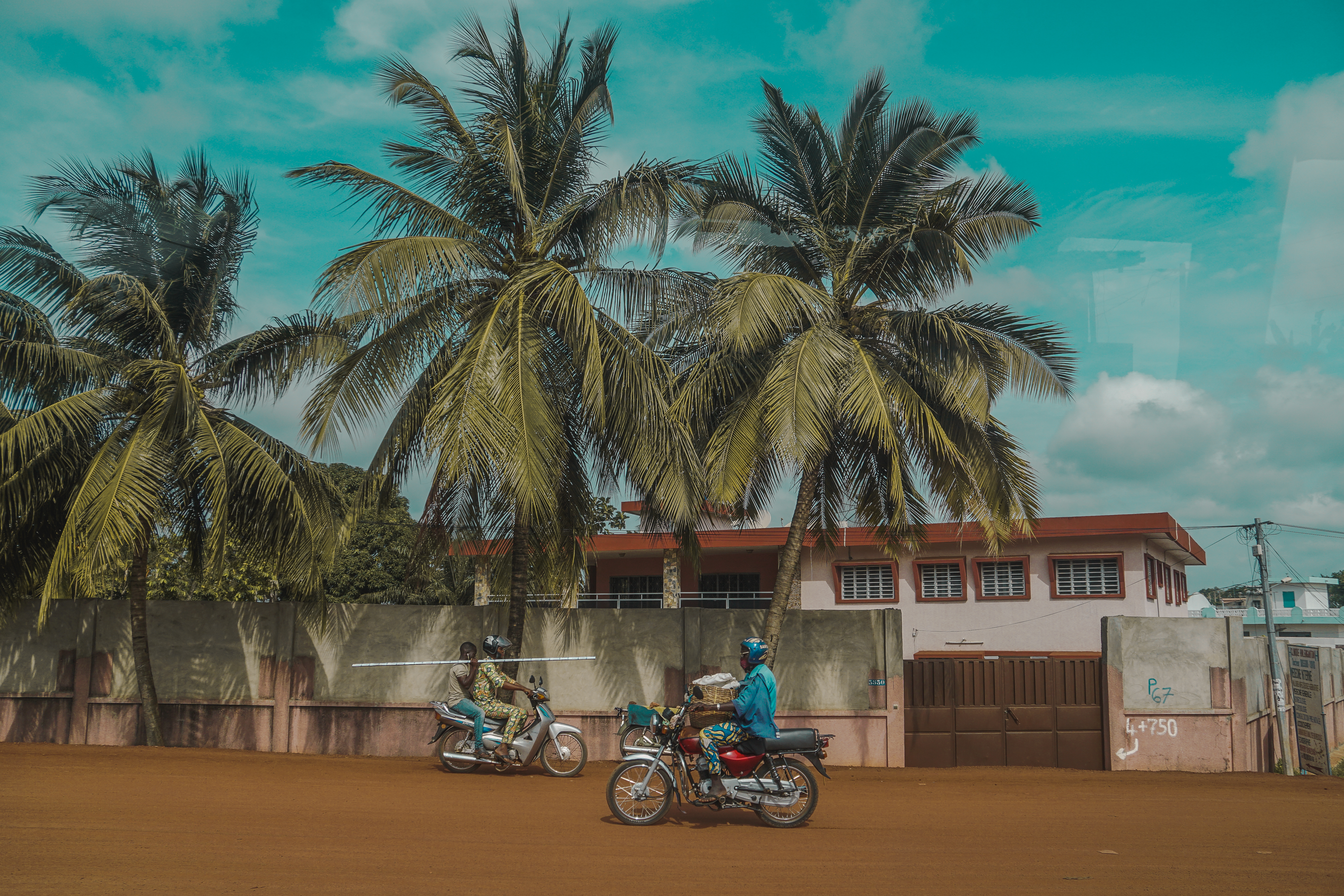 Zemidjan in Benin