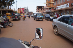 Drive-by Shooting in Kampala