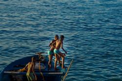 Going for a Swim, Stone Town, Zanzibar