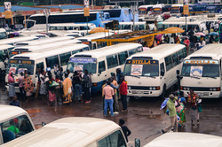 Bus Station in Kigali, Rwanda