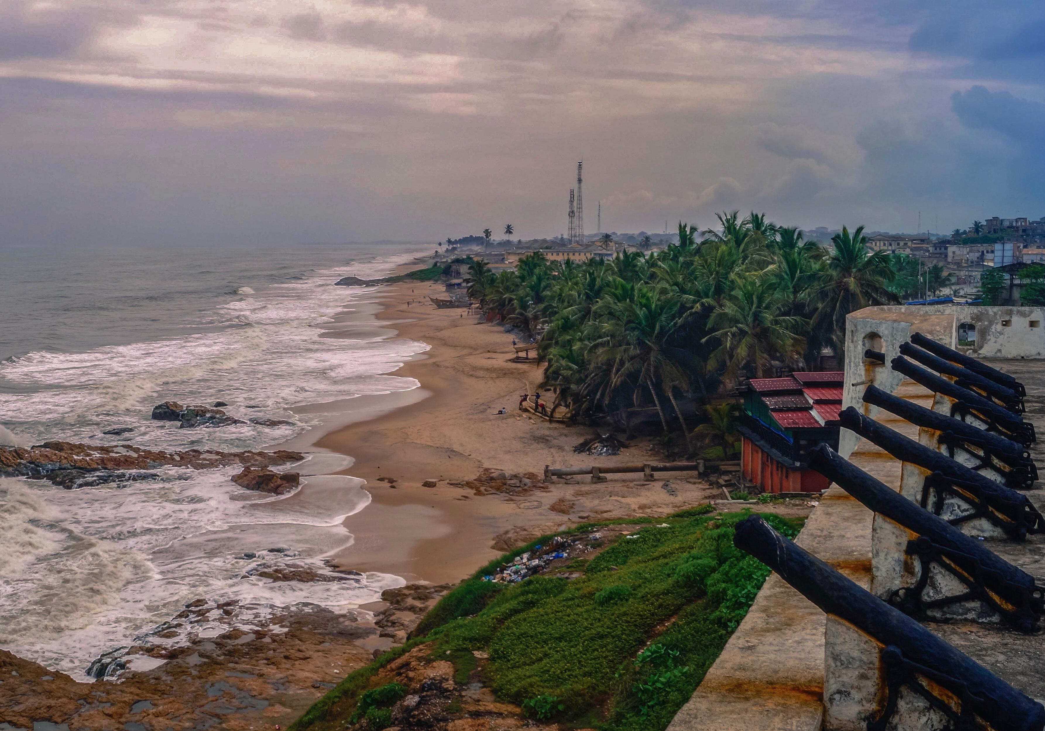Cape Coast, Atlantic Ocean, Ghana