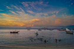 Beach Sunset, Stone Town, Zanzibar