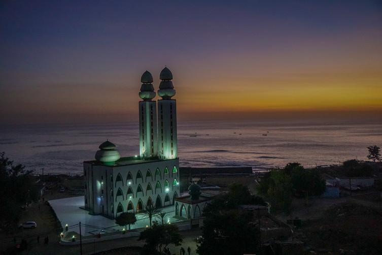Dakar's Mosque of the Divinity