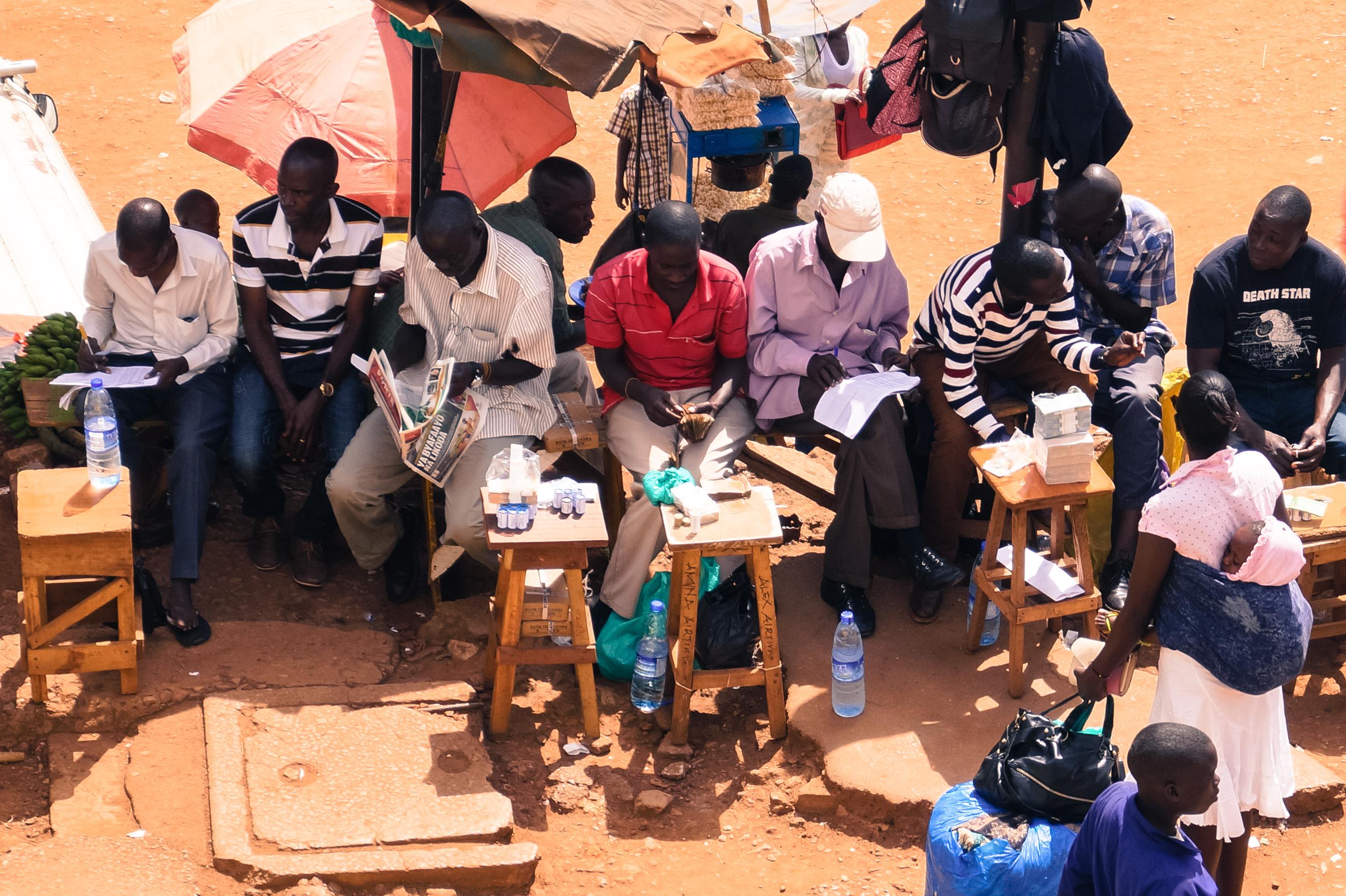 Market Scene, Kampala, Uganda