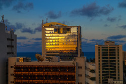 Sunset Reflected, Dar es Salaam, Tanzania