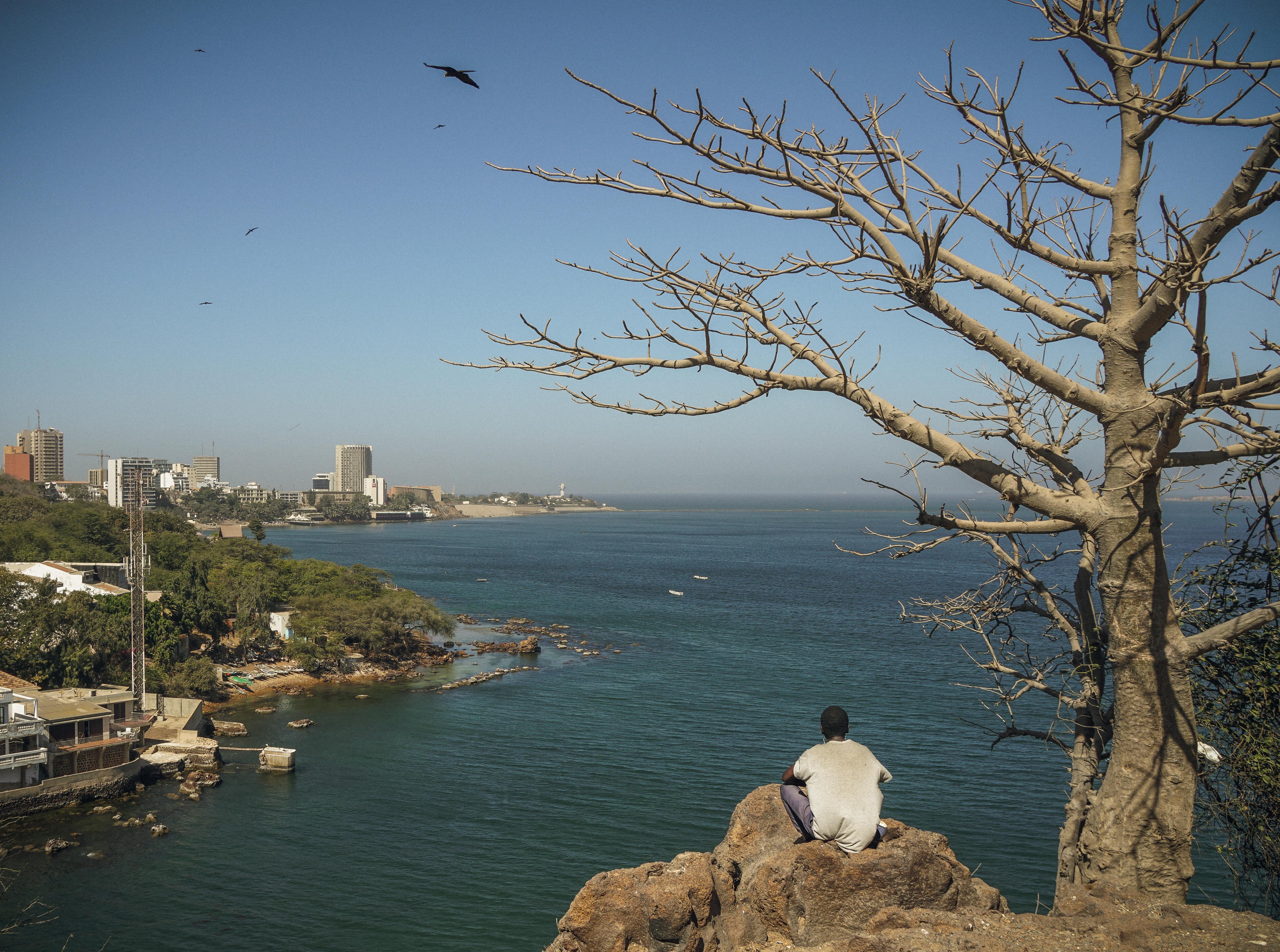 Views from Dakar's Corniche
