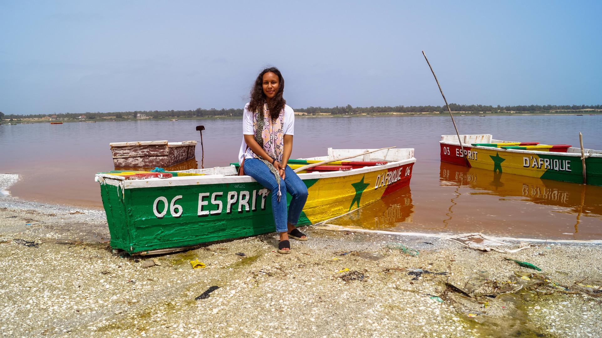 Visiting Senegal's Pink Lake
