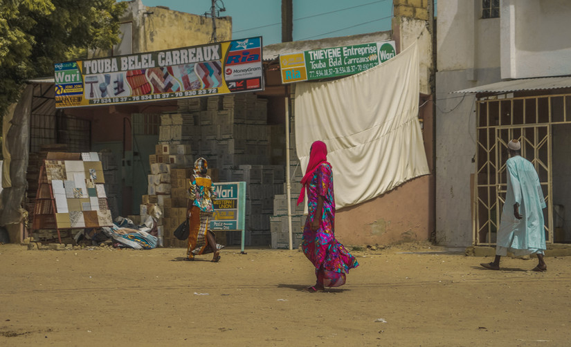 Street photography Touba