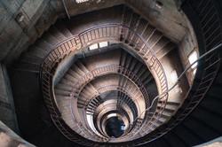 Downward Spiral, National Mosque, Kampala, Uganda