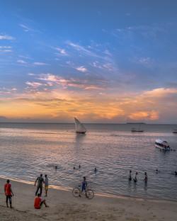 Golden Sunset, Stone Town, Zanzibar