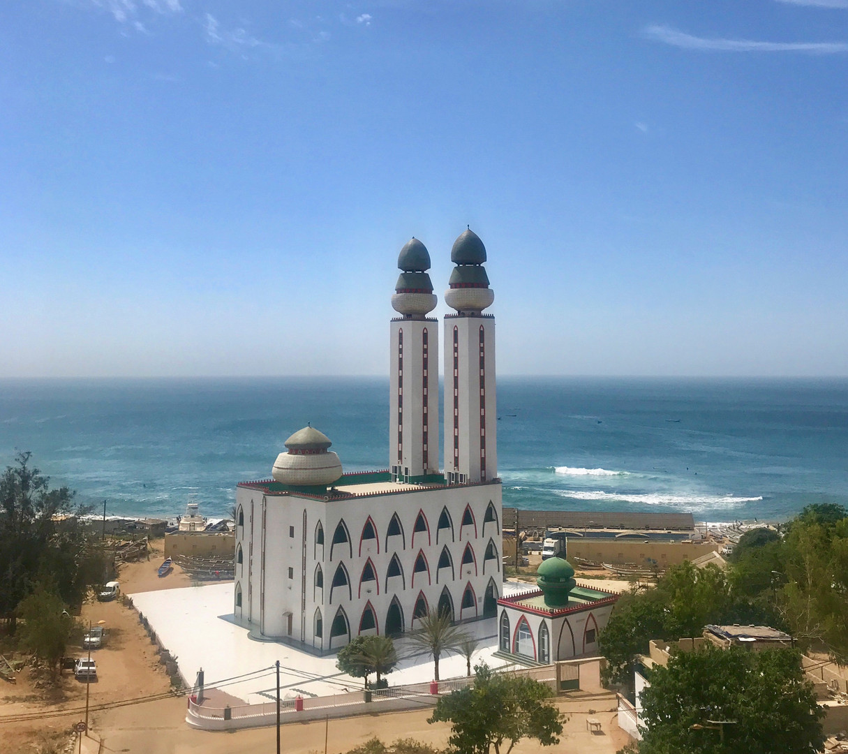 Dakar's Mosque of the Divinity