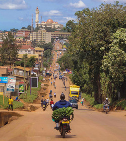 City Views of Kampala, Uganda
