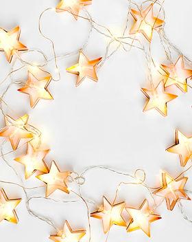 Sterne Lichterketten