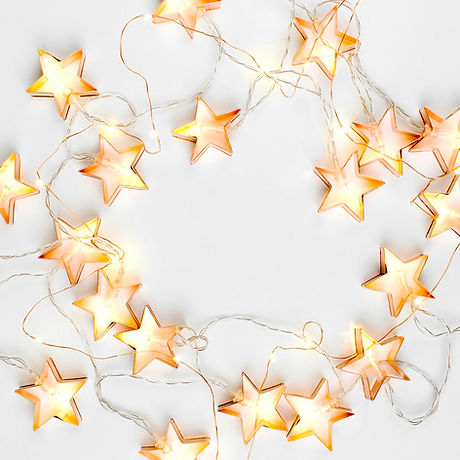 Personal Trainer - Bootcamp - Ascot - Star String Lights