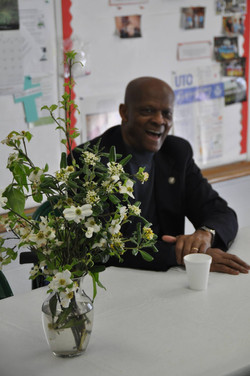 Lacy Manigault w Easter Flowers.jpg