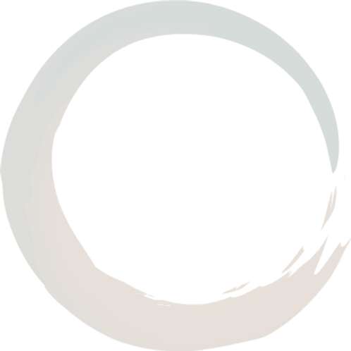 A Zen circle symbolizes balance and the cycle of existence, which you can explore with Courtney Moore, an acupuncturist and psychic medical intuitive health coach.