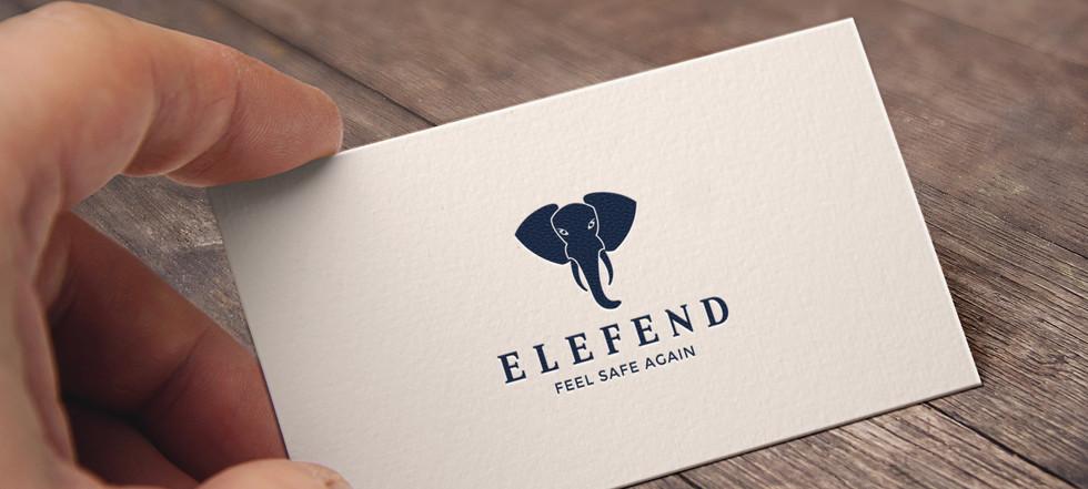 Logo design for Elefend