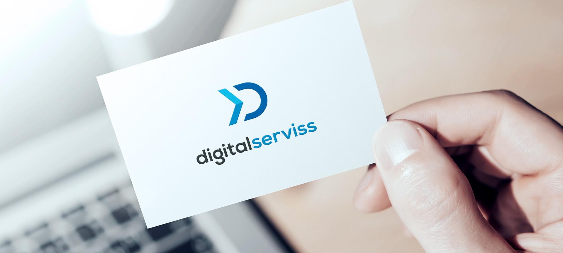 Logo design for Digital Serviss