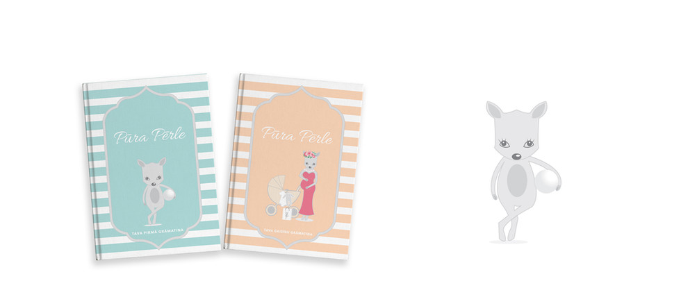 Visual concept and book collection design for Pura Perle