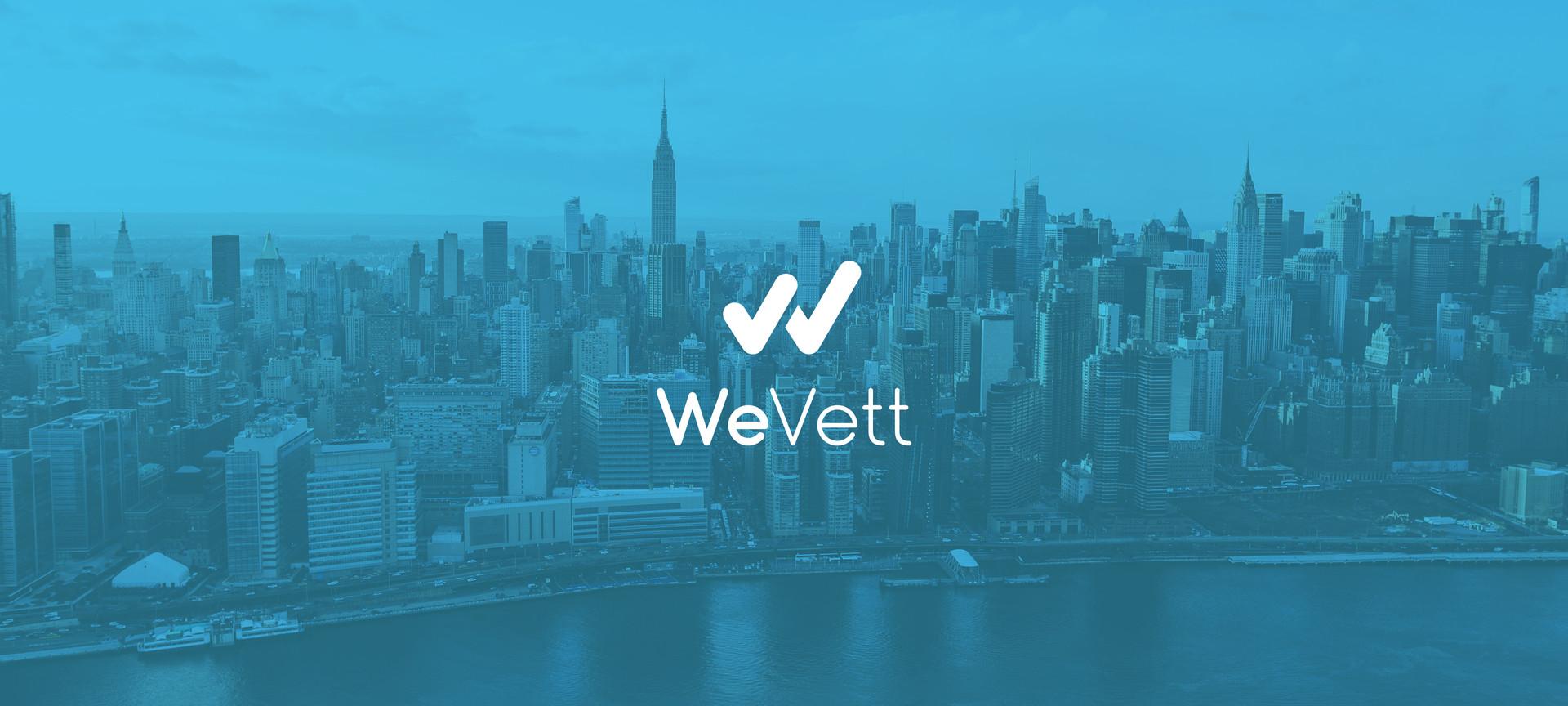 Logo design for WeVett