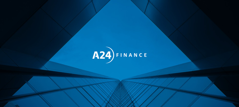 Visual identity for A24