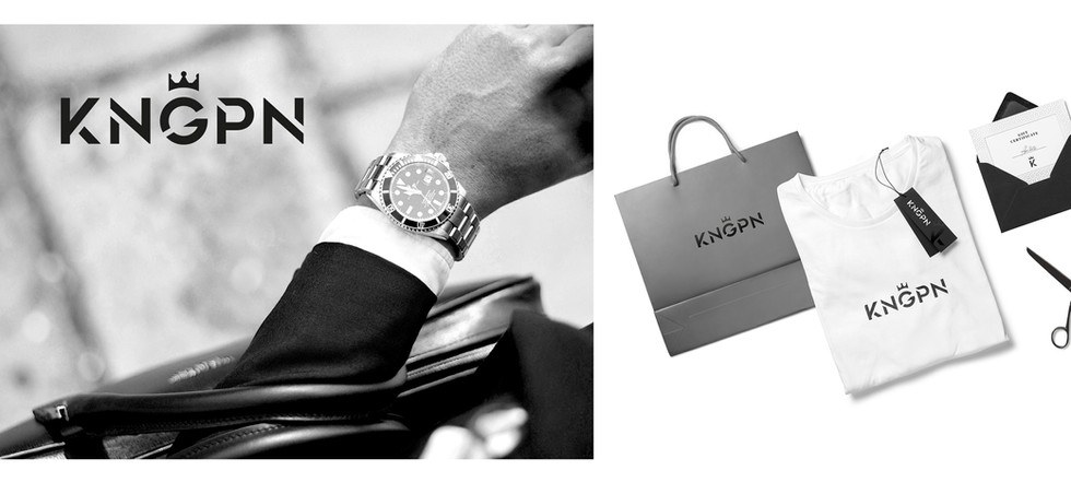 Logo design for KNGPN