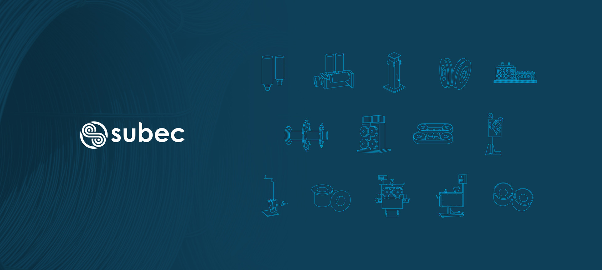 Visual identity and icon set for Subec