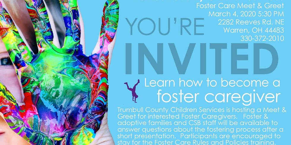 Foster Care Meet and Greet