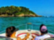 passeio de barco no guaruja