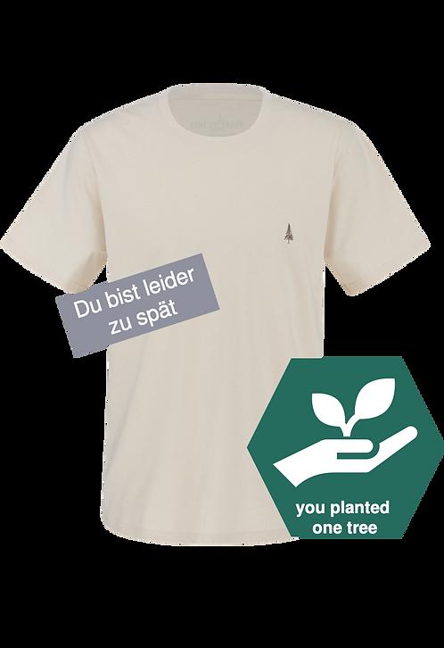 Men´s T-Shirt– beige bentonite clay