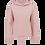 Thumbnail: Ladie's Crop Hoodie–salty Himalaya pink