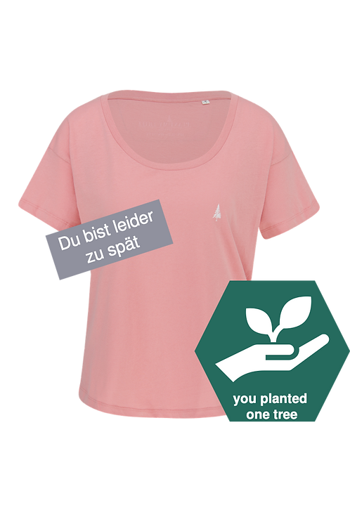 Ladie's T-Shirt –Canyonpink