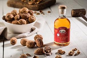 Moulin de la Veyssiere Huile de noix huile de noisette huile de noix à la truffe