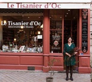 devanture Le Tisanier d'Oc Herboriste à Bordeaux