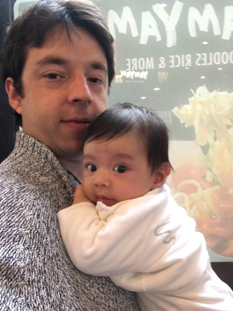 My daughter Léa