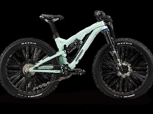 A side view of a Diamondback Release 20 3 bike.