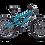 A side view of a Diamondback Atroz 1 bike.