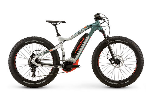 Haibike XDURO FatSix 8.0 - Electric Bike