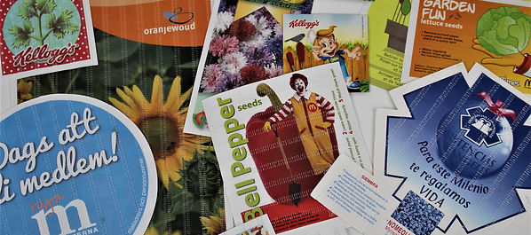 Simple Sowing, Printed Seed Packets, Seed Products, Bespoke Marketing