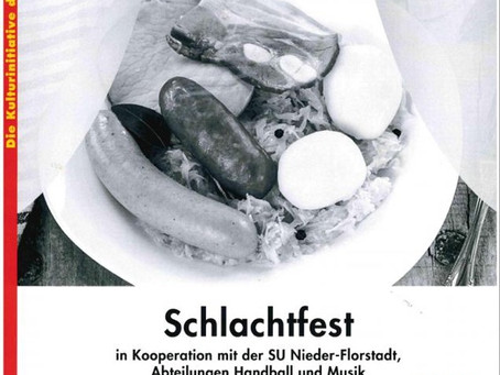 Traditionelles Schlachtfest am 24.03.