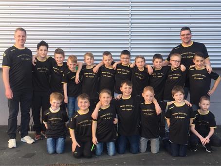 Meisterliche männliche E-Jugend der JSG Florstadt/Gettenau