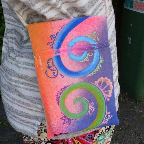 Boho paisley shoulder purse / Crossbody Bag