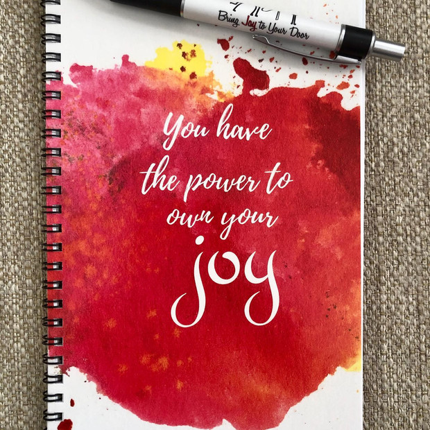 Bring Joy To Your Journal