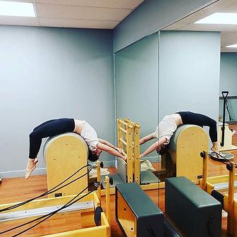 Ladder Barrel Stretch.jpe